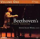Beethoven: 32 Piano Sonatas, Vol. 1 (CD, Jun-2006, 2 Discs, Connoisseur Society)