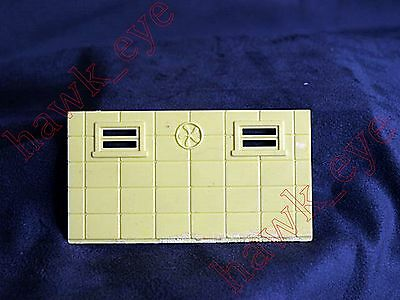 Plasticville Large Gas Station Back Piece O-S Scale