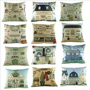 Image Is Loading House And Garden Cushions By Sally Swannell