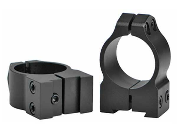 Warne Maxima 1  Medium Profile Steel Fixed Scope Rings for CZ 527 16mm Dovetail