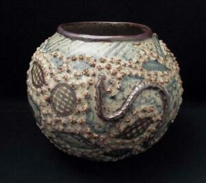 RORKE-039-S-DRIFT-DINAH-MOLEFE-SOUTH-AFRICAN-ZULU-STUDIO-POTTERY-VASE-SIGNED-1982