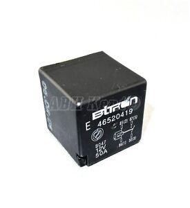 4-Pin multi-usage noir relais e 46520429 12V 50A A727 692 Fiat alfa romeo 00-16