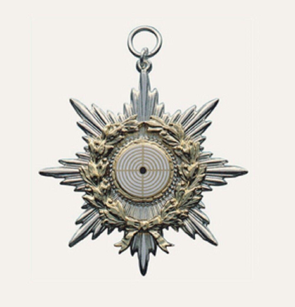 Kompletter Schützenorden von Deumer, Orden  auch mit Gravur  13369