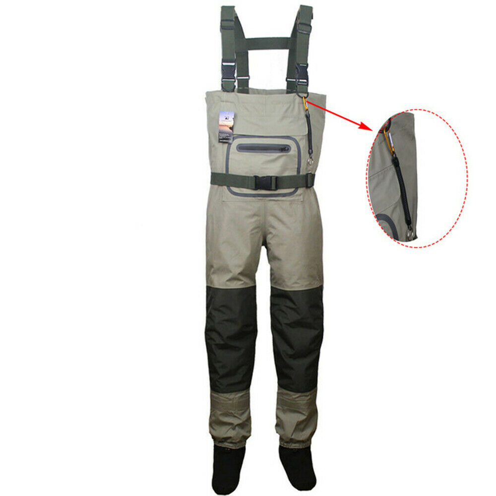 fly fishing chest waders breathable waterproof stocking