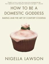 How to Be a Domestic Goddess Baking + Art of Comfort Cooking Nigella Lawson PB