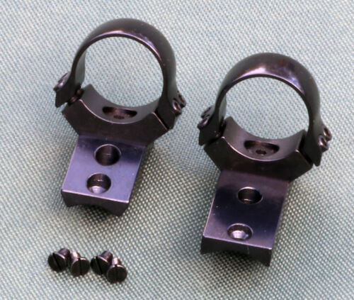 ZASTAVA M85 Mini MAUSER rifle scope mounts, 1 inch rings, STEEL GLOSS finish.