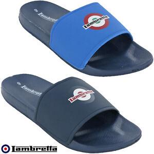 ce8ce45ea Image is loading Lambretta-Sandals-Slides-Flip-Flop-Mens-Summer-Holiday-