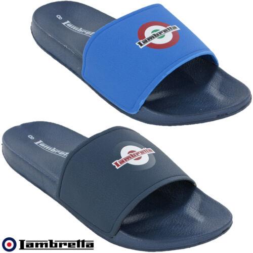 Lambretta Sandalias Diapositivas Chanclas Hombre Verano Vacaciones Deslizadores