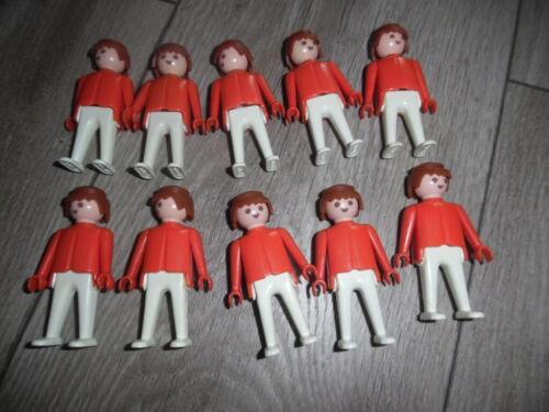 rote Figuren aus Set Schildwache 3544 Playmobil 10x Klicky weiße