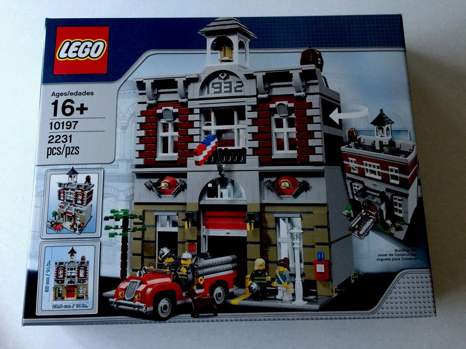 LEGO Fire Brigade 10197  Creator Series  - Brand New in box    Fast Ship