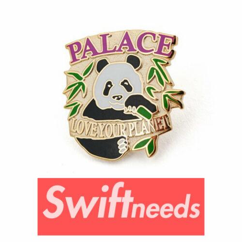 New Palace Panda Badge Pin Summer 2018 SS18 Pins Love Your Planet Skateboards
