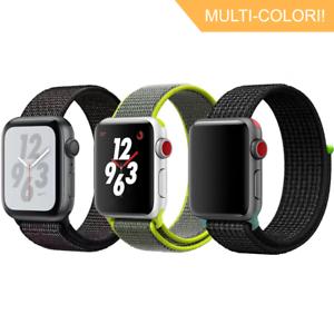 Nylon-Sport-Loop-Cinturino-Per-Apple-Watch