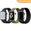 Nylon-Sport-Loop-Cinturino-Per-Apple-Watch miniatura 1