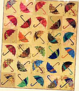 Dancing-Umbrella-fun-applique-and-pieced-quilt-PATTERN-Laundry-Basket-Quilts