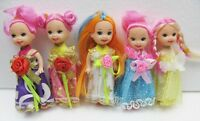 5pc Mermaid Pretty Girl Doll With Clothes,gift Toy Baby Doll For Girl Xmas Gift