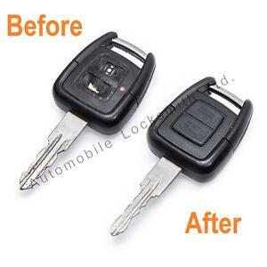 For Opel Vauxhall Frontera 2 button remote key fob Repair Refurbishment Service
