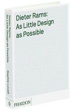 Fachbuch Das Werk von Dieter Rams As Little Design at Possible Braun, Möbel Hifi