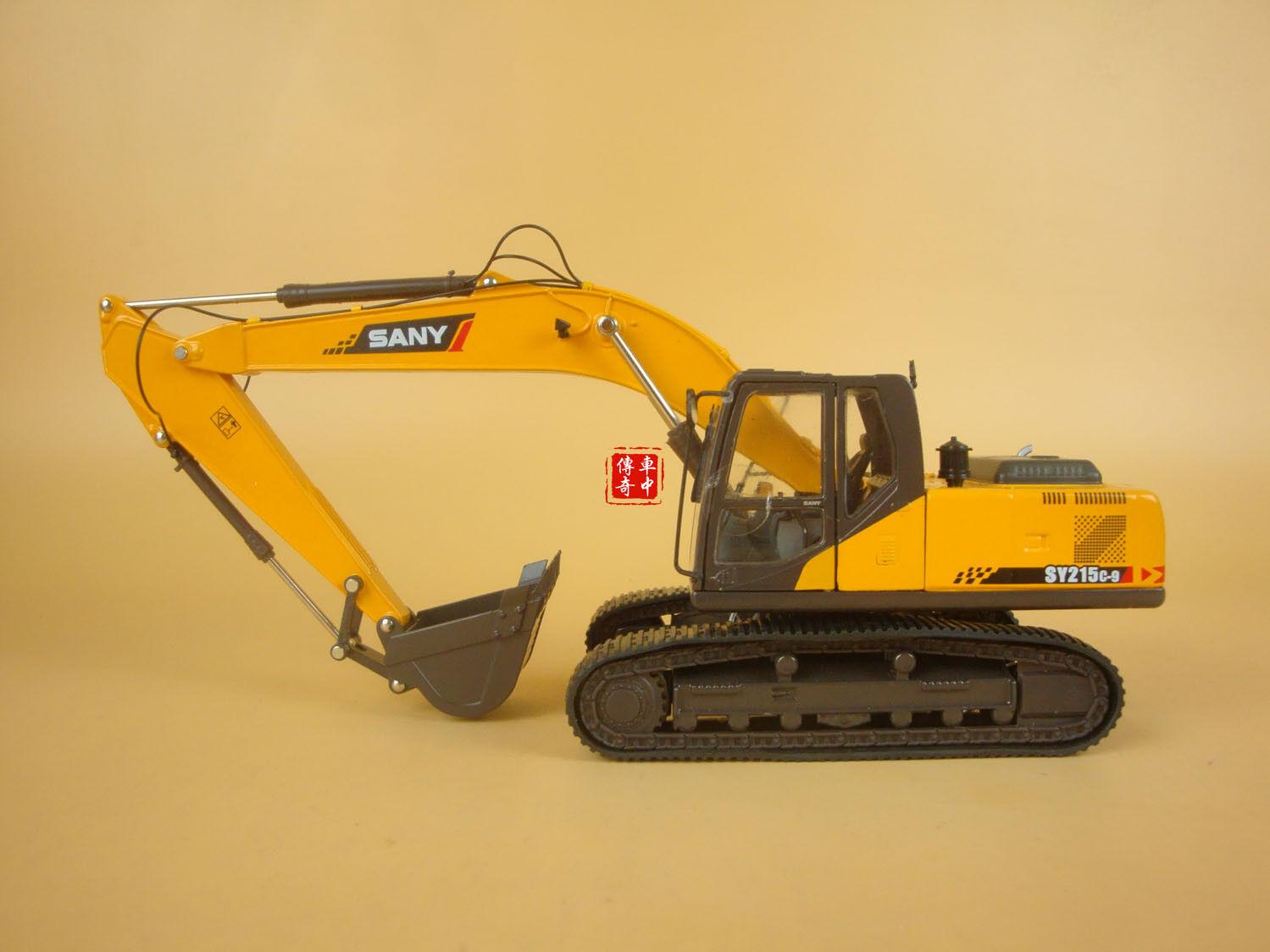 1 35 SANY SY215C-9 Excavator diecast model