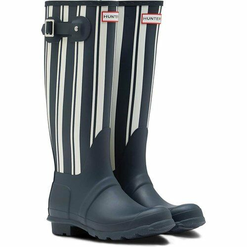 Hunter Garden Tall Wellies Navy - 11W566