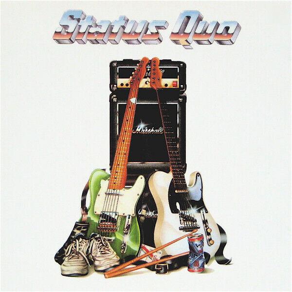 STATUS QUO - SELF TITLED - MERCURY 836 651 2 - 1989 CD