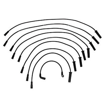 NIB Mercruiser 5.0L 5.7L V8 Vortec w/Flat Dist. Cap Ignition Wire Set 863656A1