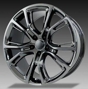 """Jeep Srt8 Replica Wheels 22 >> 4 NEW JEEP SRT8 22"""" Hyper Silver Wheels OE 22x9 137HS Grand Cherokee   eBay"""