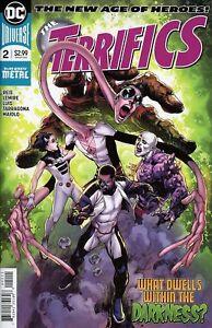 TERRIFICS-2-Dark-Nights-Metal-DC-Comics-1st-Print-Lemire-Reis