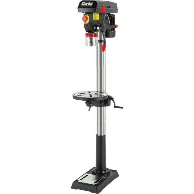 Latest CLARKE CDP352F FLOOR STANDING INDUSTRIAL DRILL PRESS 230 Volts 550 Watts