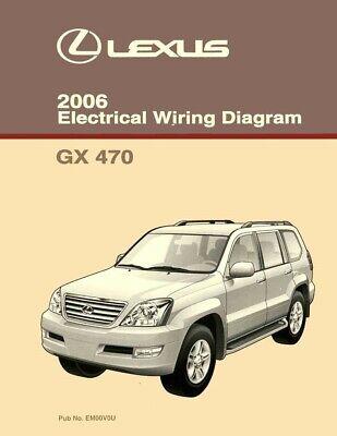 2006 Lexus GX 470 Wiring Diagrams Schematics Layout ...