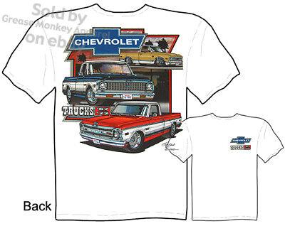 67-72 Pickup T Shirt Chevrolet Truck Tee Chevy Shirt 1968 1969 1970 1971 1972