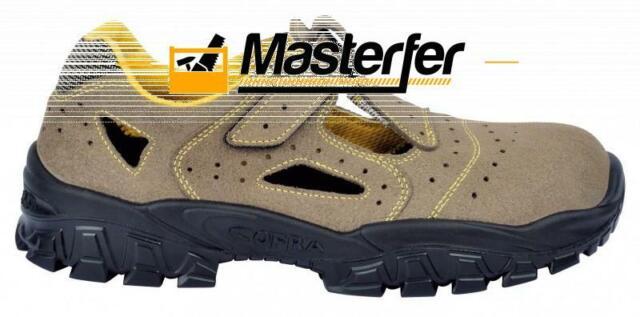 Scarpe sandali antinfortunistica Cofra NEW BRENTA S1 P SRC da lavoro beige