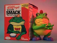 Ron English - Honey Sugar Smack FROG - Drug 'em Killfrong Cereal Killers
