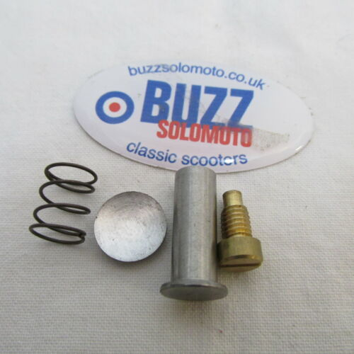 Pin Spring and Cup For Steering Lock to fit Lambretta Series  2 and 3