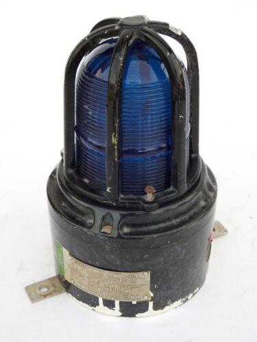 MEDC Lights /& MEDC Strobes Light Blue XB15 Vintage Maritime MEDC Beacons