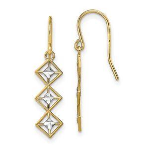 Fancy-Dangle-Wire-Earrings-In-Real-14k-Yellow-Two-Tone-Gold-0-96gr