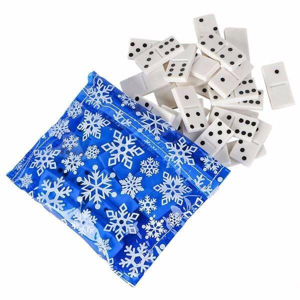 Lote de 144 sets de caja 28 piezas Conjunto de Regalo Cumpleaños Regalo Fiesta con dominós