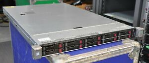 HP HPE DL360 Gen9 G9 SFF 2x E5-2687W v3 3.10Ghz 10-Core XEON configure to order