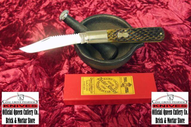 Queen City USA Jigged Bone #71 Fisherman's Barlow NIB 1 of 300