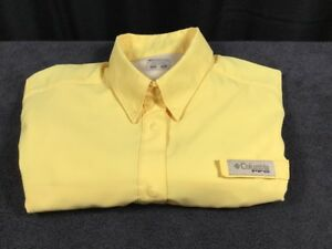 Women-039-s-Columbia-PFG-Omni-Shade-Polyester-Short-Sleeve-PFG-Fishing-Size-S