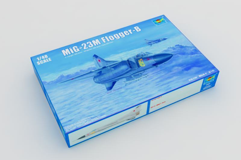 Trumpeter 1 48 Scale Warplane Russian MIG-23M Flogger Aircraft 02853 Model Kit