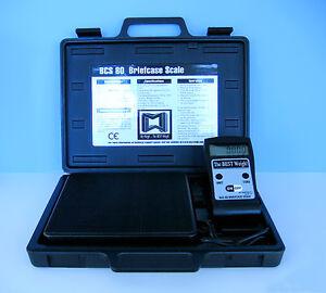 c0ac1d44e4fd Details about MY WEIGH BCS 80 BRIEFCASE SCALE 176 lb x 0.05 oz