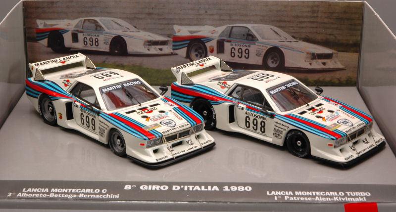 Lancia Beta Martini  698 699 Set 2 pcs 1 43 Model LORENZI