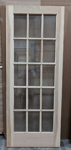 Details About Hickory 15 Lite Glass Interior Door 32 X 80 X 1 38 Slab Or Prehung