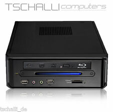 Quad-Core MIni PC Intel J3160 DVD HDMI SSD USB 3.0 stromspar lautlos i24