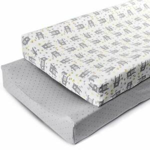 Infant-Soft-Baby-Diaper-Change-Changing-Pad-Cover-Waterproof-2-Pack-16-034-32-034