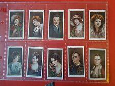 1928 Wills CINEMA STARS movie set ser.2 Tobacco Cigarette cards complete lot