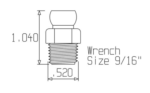 "1//4/""Male NPT Connectors for 1//4/""Loc-Line® USA Original Modular System #41406 4"