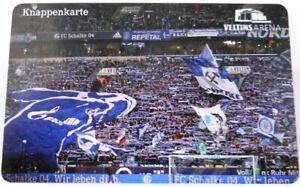 Knappenkarte-FC-Schalke-04-Nordkurve-Veltins-Arena-Huelle-Restguthaben