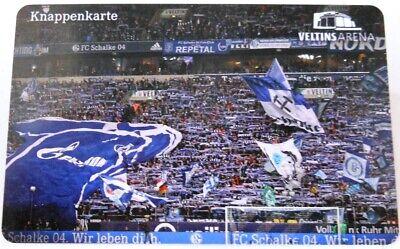 Restguthaben + FC Schalke 04 Knappenkarte Hülle Olé Auf Schalke