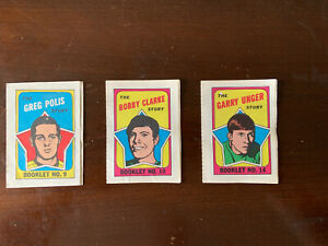 1971-72-Topps-Hockey-Booklet-Lot